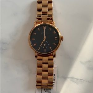 NWT Marc Jacobs copper rose gold watch